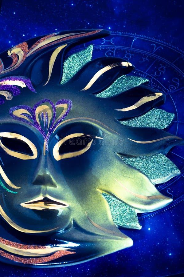 De astrologie van de zon royalty-vrije stock afbeelding