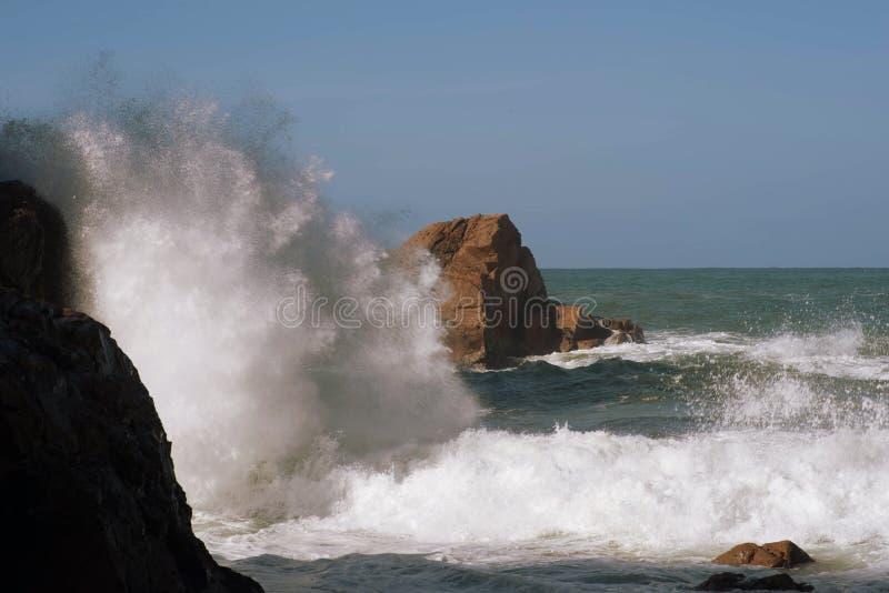 De Atlantische Oceaan royalty-vrije stock fotografie