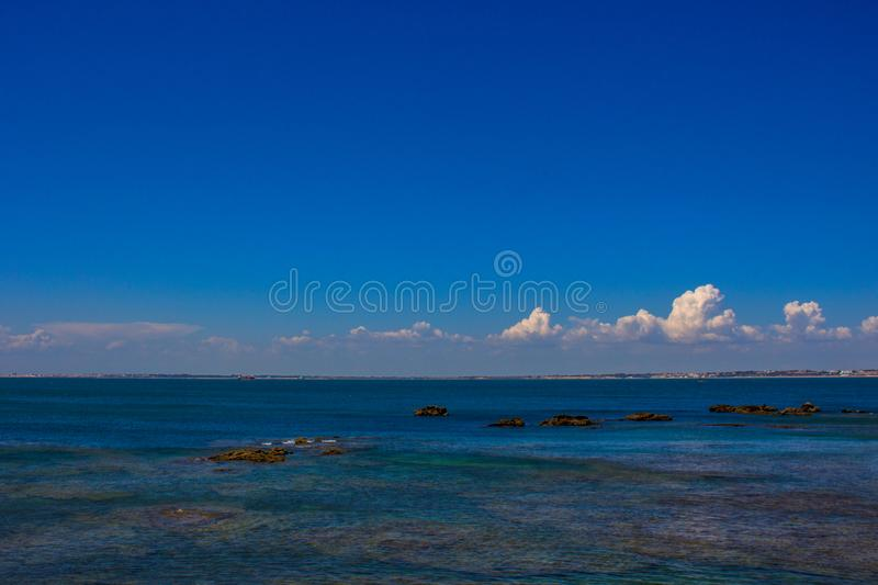 De Atlantische Oceaan stock fotografie