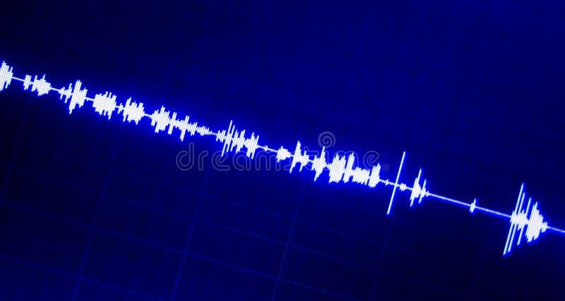 De audio van de geluidsopnamestudio stock fotografie
