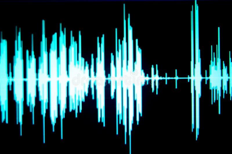 De audio van de geluidsopnamestudio royalty-vrije illustratie