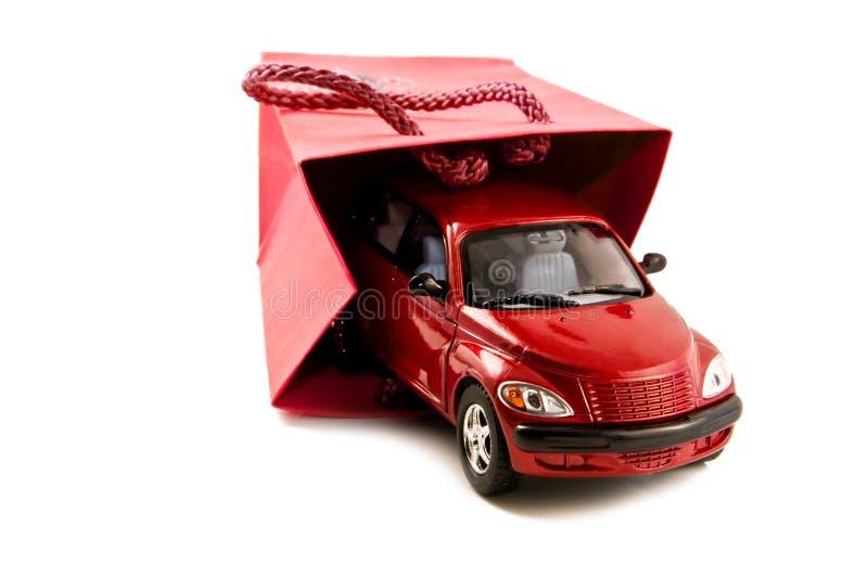 De auto als Gift royalty-vrije stock foto