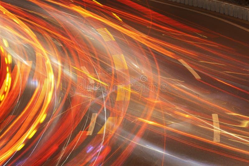 Download De auto lichte slepen stock foto. Afbeelding bestaande uit blur - 29512566