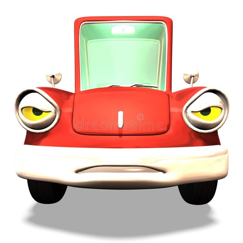 De auto Nr 33 van het beeldverhaal stock illustratie