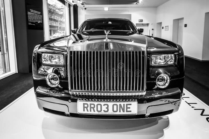 De auto Rolls-Royce Phantom VII van de ware grootteluxe Sinds 2003 royalty-vrije stock foto
