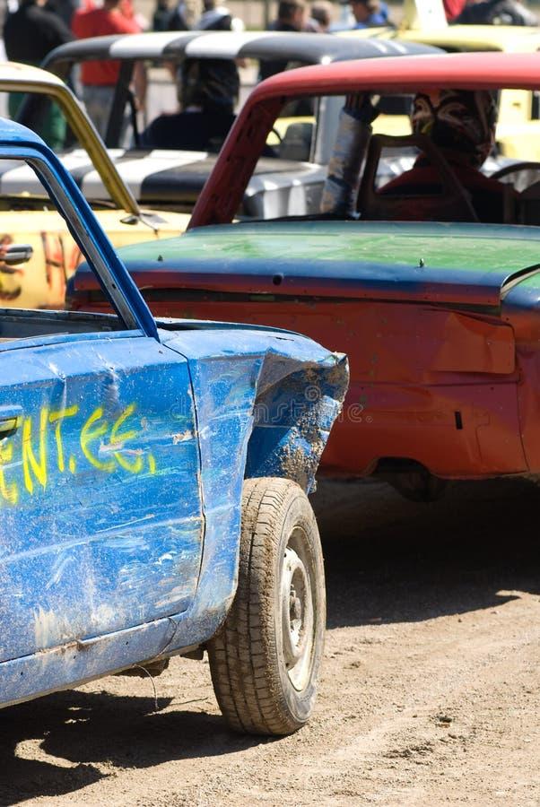 De Auto's van de Derby van de vernieling   royalty-vrije stock afbeelding