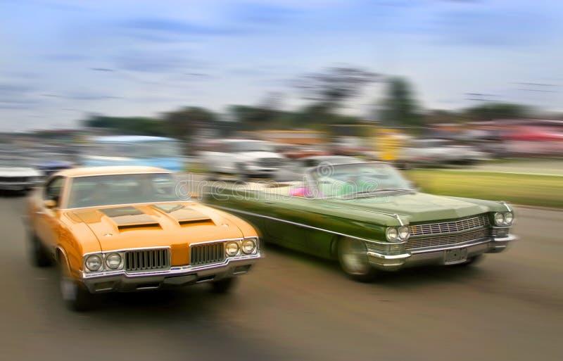 De Auto's van de spier royalty-vrije stock fotografie