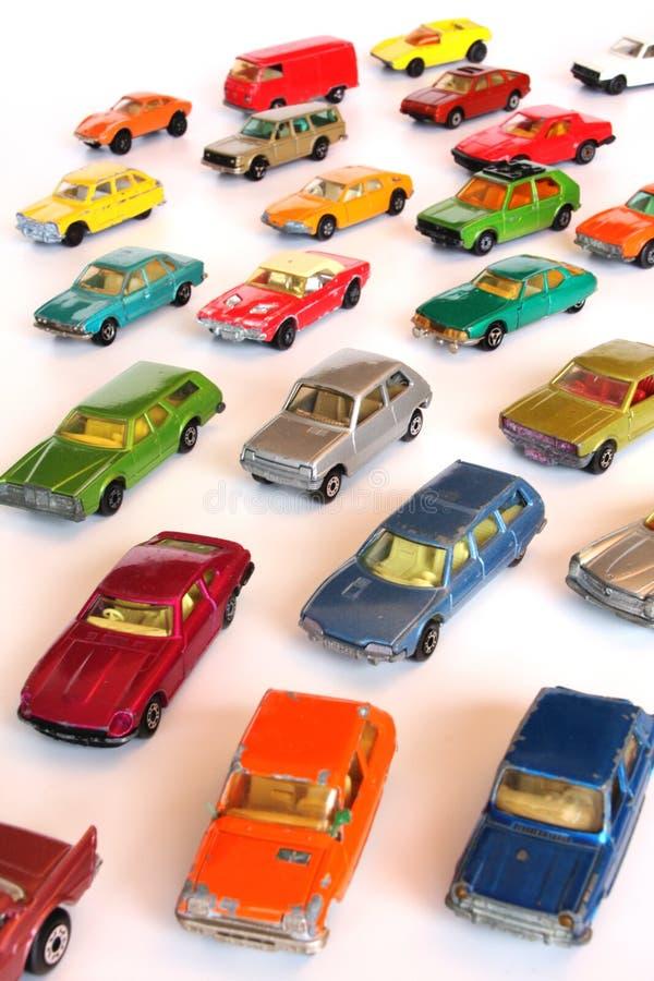 De auto's van het stuk speelgoed royalty-vrije stock afbeelding