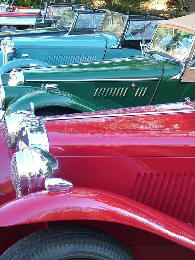 De Auto's van Mg royalty-vrije stock foto's