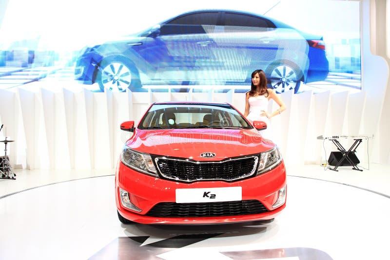 De auto toont, de AutoTop 2011 van Shanghai royalty-vrije stock foto's