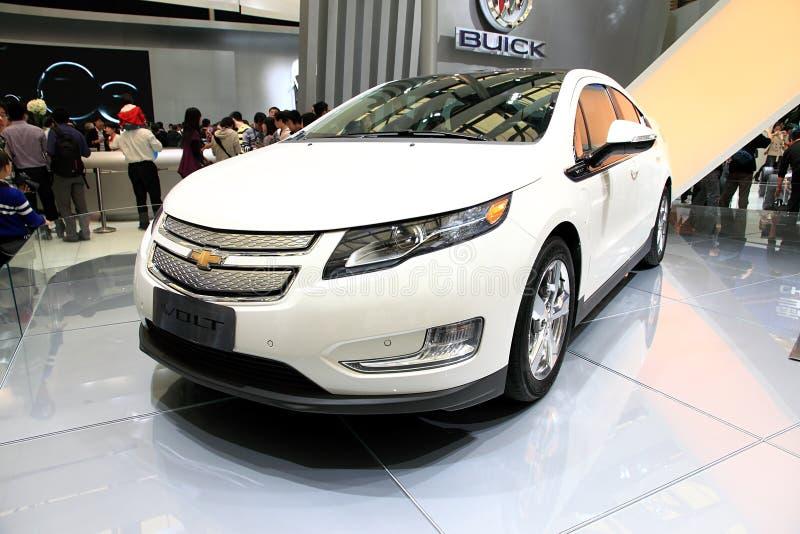 De auto toont, de AutoTop 2011 van Shanghai royalty-vrije stock afbeeldingen