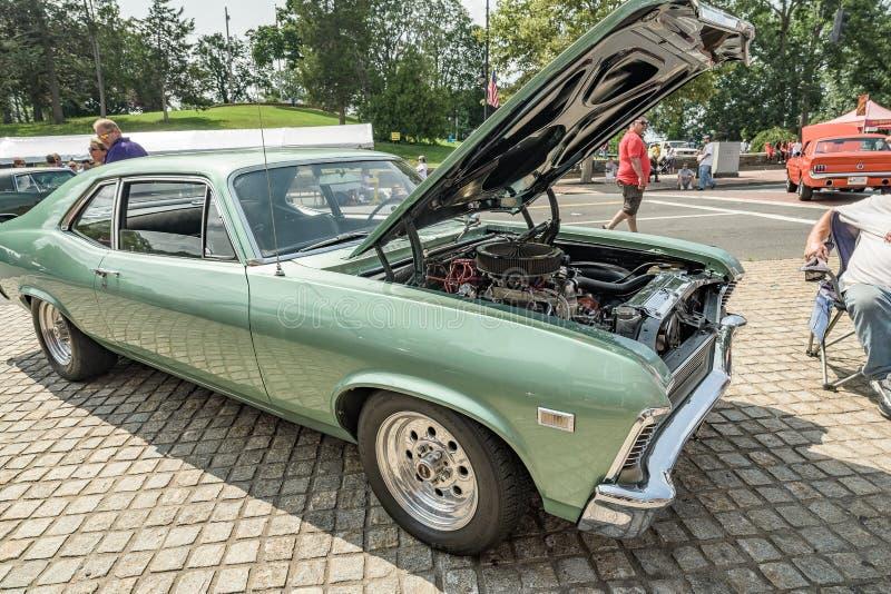 De auto toont in Manchester Connecticut royalty-vrije stock foto