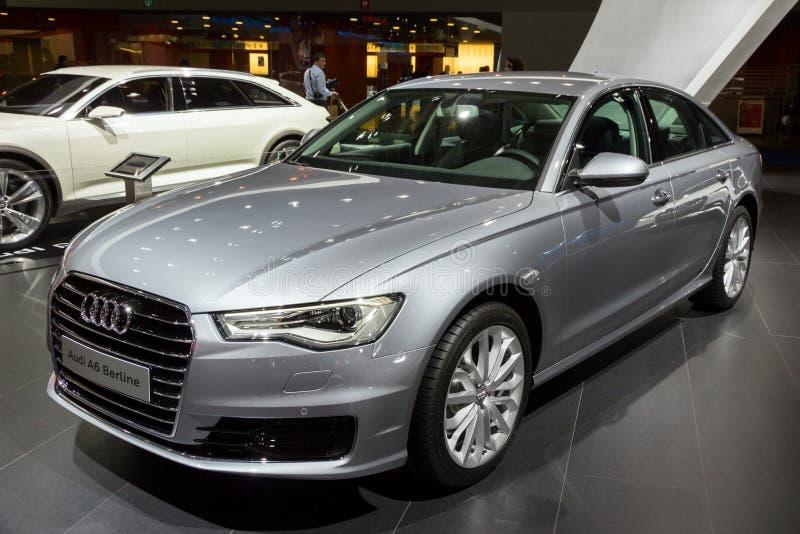 De auto van Audi A6 Berline stock foto