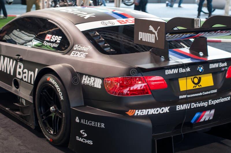 De auto van BMW M3 DTM 2012 royalty-vrije stock afbeelding