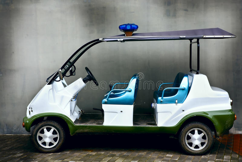 De auto van de batterij royalty-vrije stock afbeelding