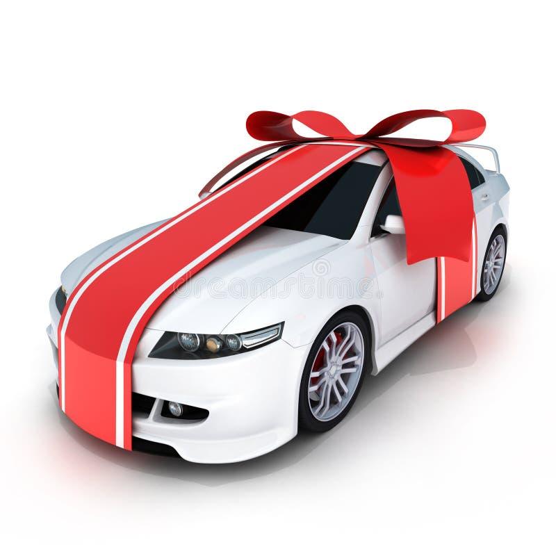 De auto van de gift stock illustratie