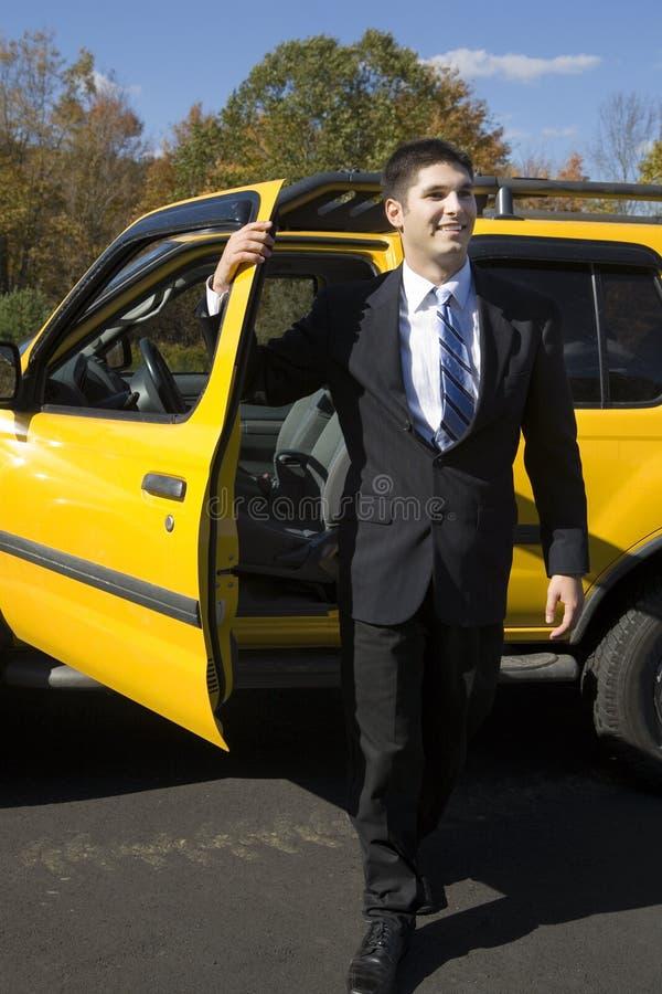 De Auto van de huur royalty-vrije stock afbeelding