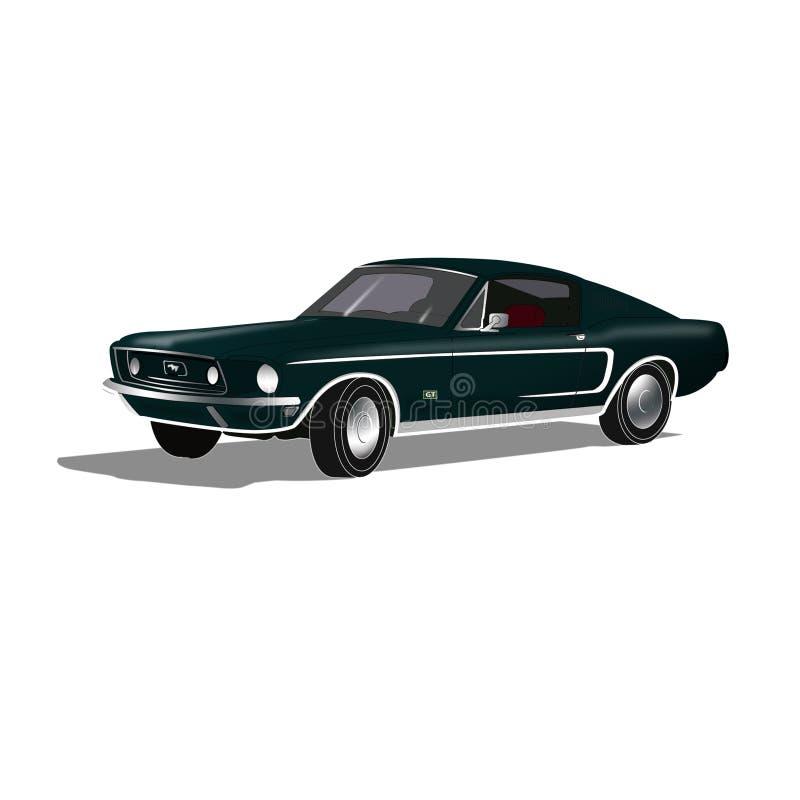 De Auto van de spier royalty-vrije stock afbeelding