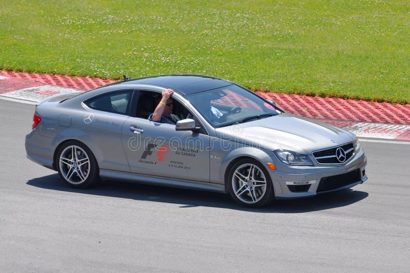 De Auto van de veiligheid in de Canadese Grand Prix van 2012 F1 stock afbeelding