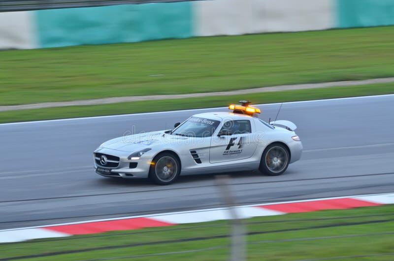 De Auto van de Veiligheid van Formule 1 royalty-vrije stock foto