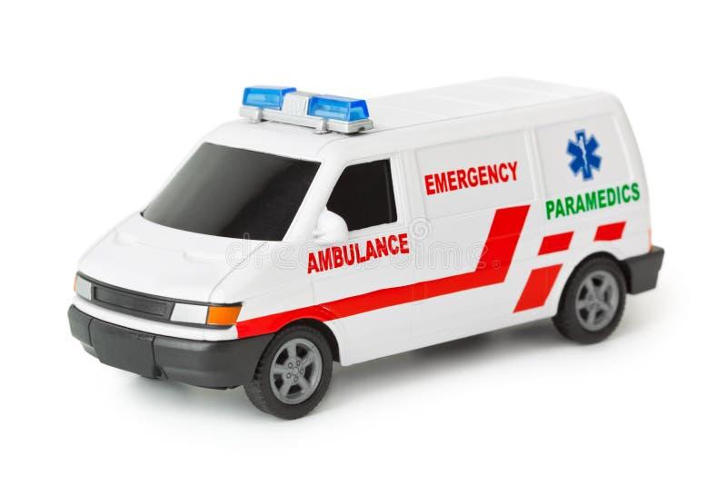 De auto van de ziekenwagen stock afbeelding