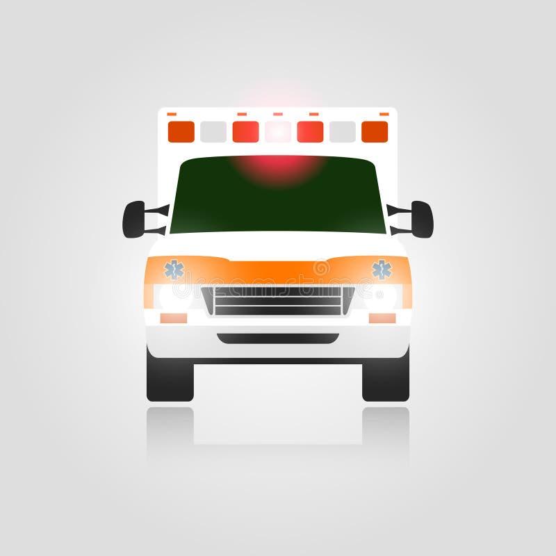 De auto van de ziekenwagen royalty-vrije illustratie