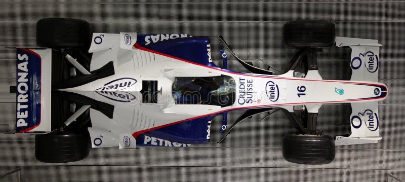 De auto van Formule 1 F1 door BMW stock afbeeldingen