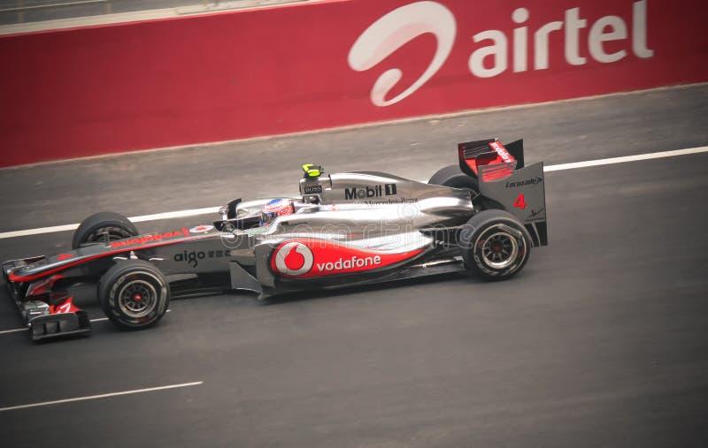 De auto van Formule 1 stock foto