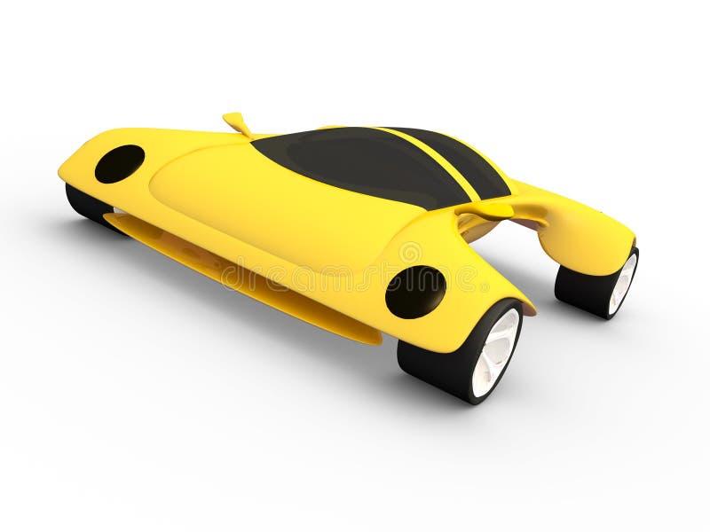 De Auto van het concept A #4 royalty-vrije illustratie