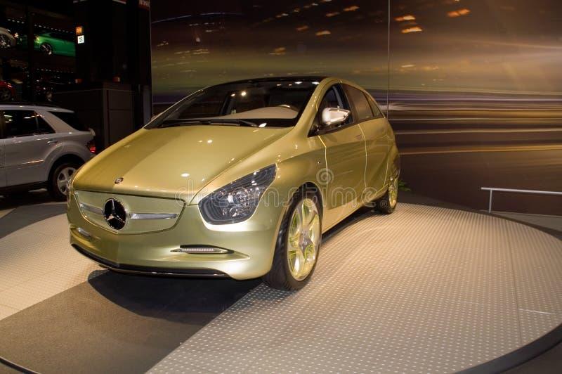 De auto van het Concept van Benz van Mercedes stock afbeeldingen