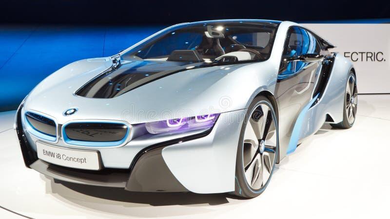 De Auto van het Concept van BMW i8 royalty-vrije stock foto