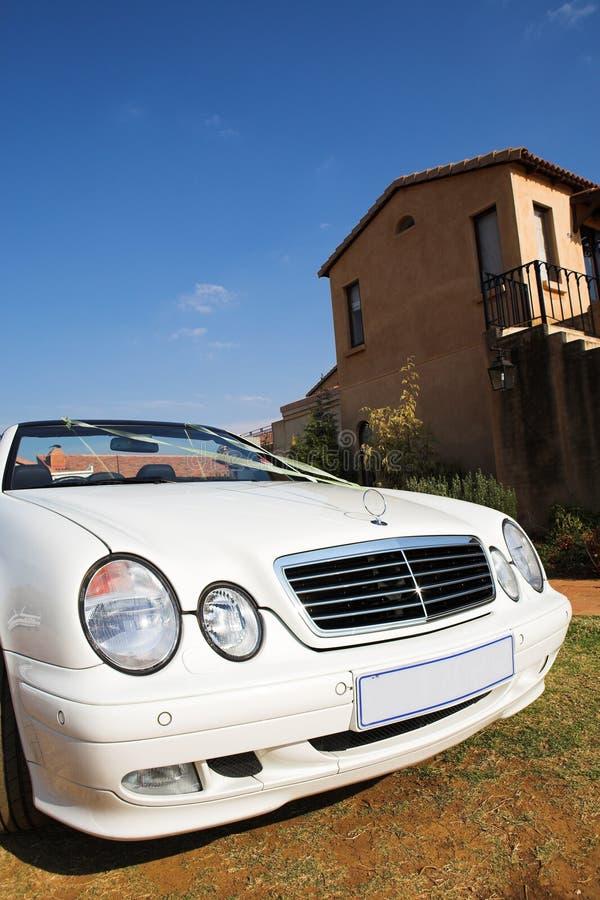 De Auto van het huwelijk #2 stock fotografie