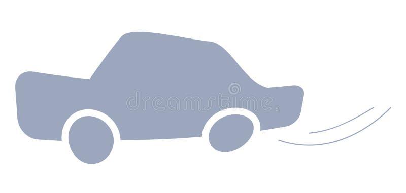 De auto van het pictogram stock illustratie
