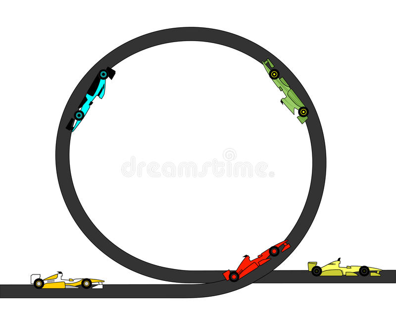 De auto van het spel vector illustratie