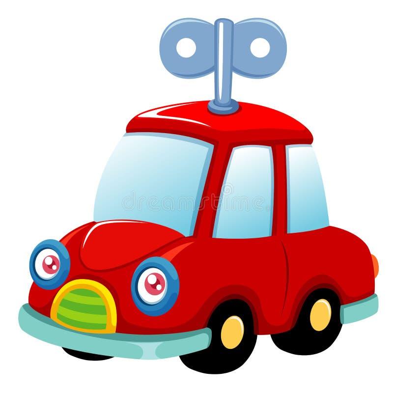 De auto van het stuk speelgoed vector illustratie