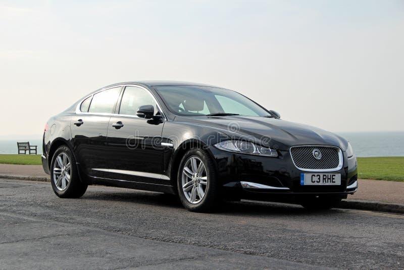 De auto van Jaguar xf stock foto's