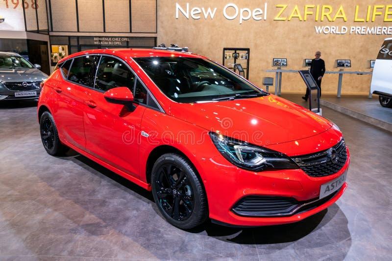 De auto van Opel Astra royalty-vrije stock foto