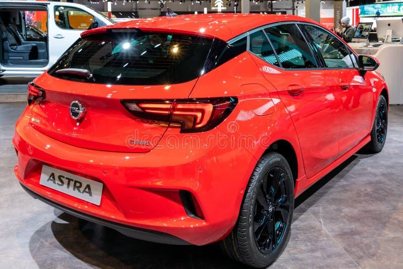 De auto van Opel Astra royalty-vrije stock afbeeldingen