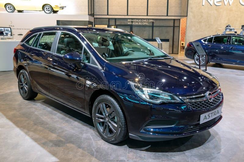 De auto van Opel Astra stock fotografie