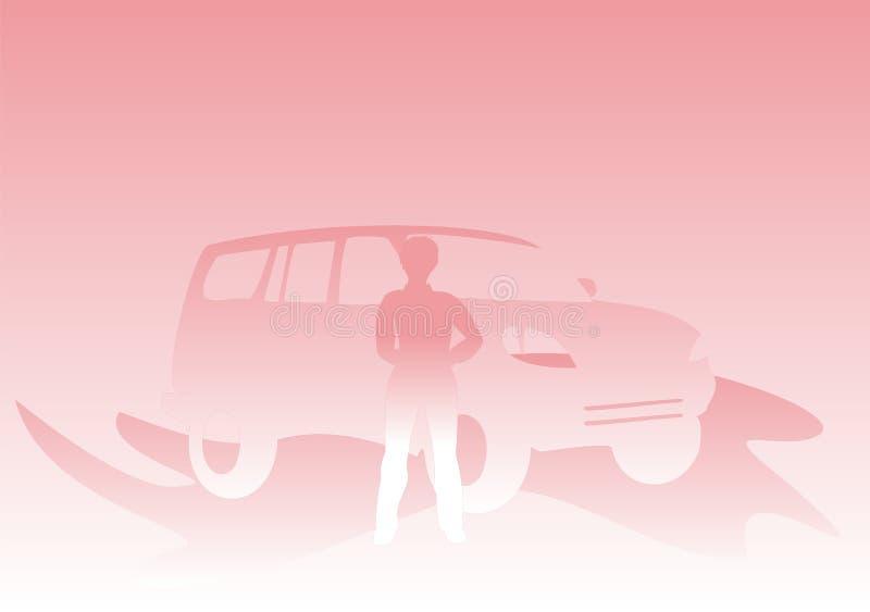 De auto van vrouwen royalty-vrije stock afbeelding