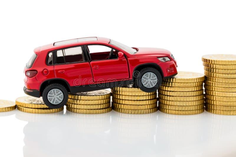 De autokosten van de symboolfoto royalty-vrije stock foto