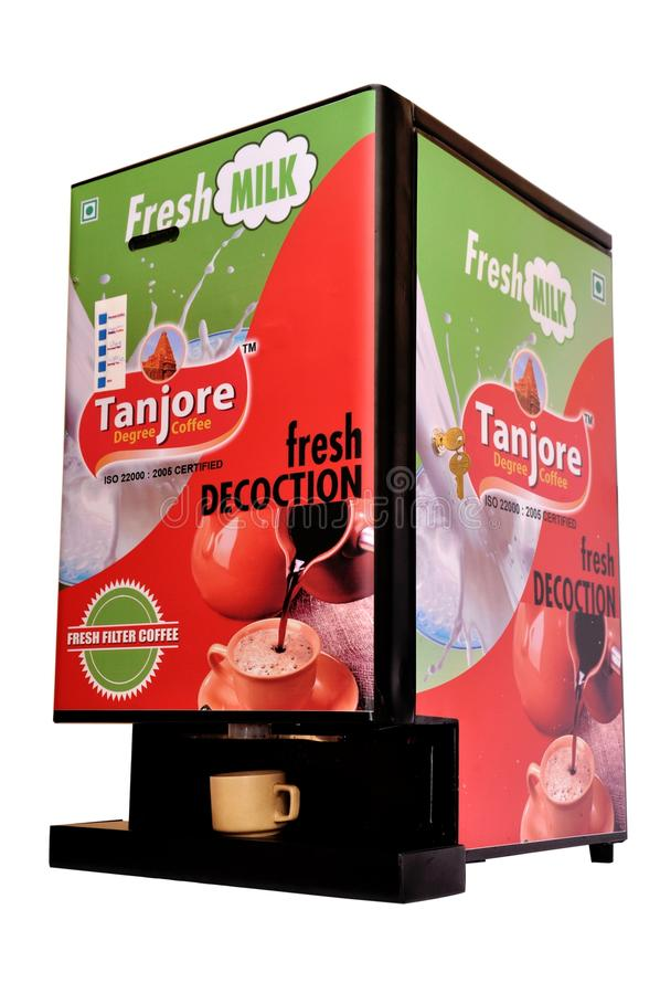 De Automaat van de filterkoffie stock fotografie