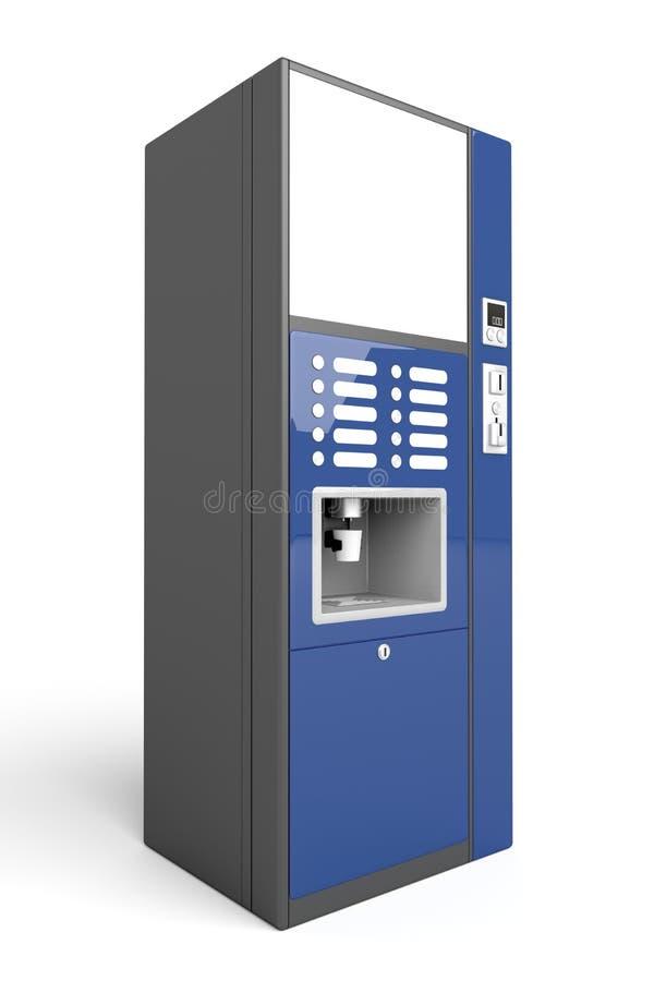 De automaat van de koffie vector illustratie