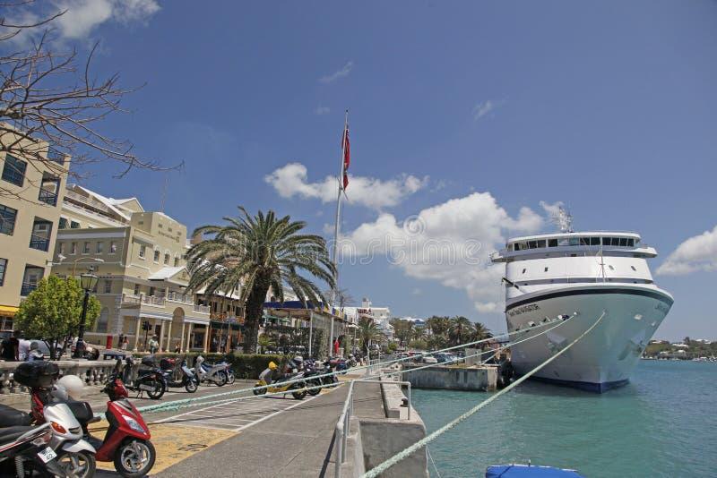 De Autopedden van de Bermudas royalty-vrije stock foto's