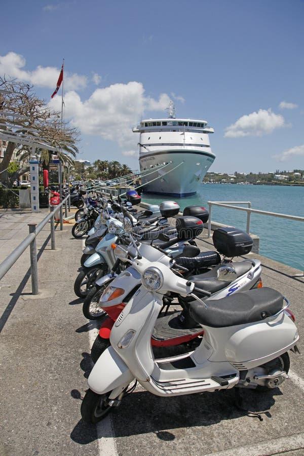 De Autopedden van de Bermudas stock afbeelding