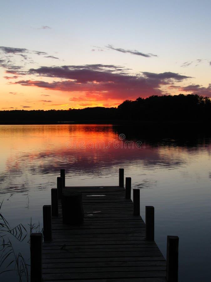 De avond van de herfst royalty-vrije stock foto's