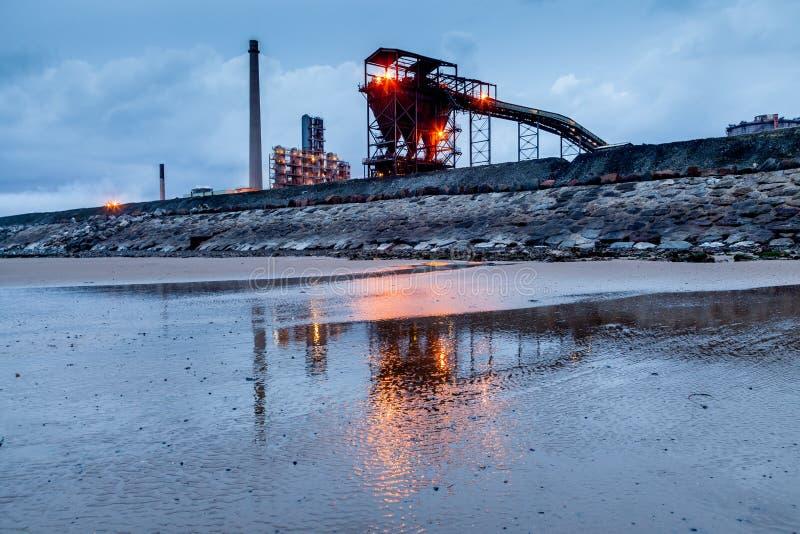 De Avond van de staalwerken royalty-vrije stock foto