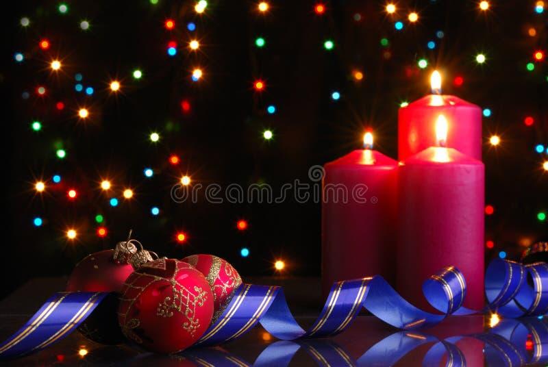 De avond van Kerstmis stock foto's