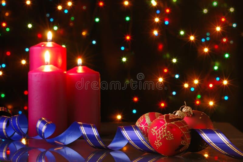 De avond van Kerstmis stock fotografie