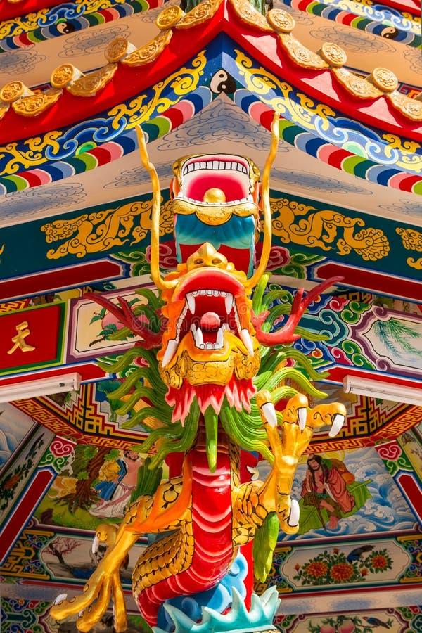 De Aziatisch Chinees draak en Phoenix, Chinese cultuur royalty-vrije stock fotografie